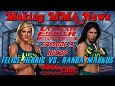 TUF 20 Episode 9 Recap - Felice Herrig vs. Randa Markos -  On 'The MMA Live Chat Show' Season 2 Episode 62 show, Rich Davie briefly discusses and recaps the TUF 20 Episode 9 show that featured the fight between Felice Herrig and Randa Markos.  @RichDavie @MMALiveChatHour #TUF20 #FeliceHerrigVsRandaMarkos #HerrigVsMarkos #FeliceHerrig #RandaMarkos #MMALiveChatShow #MMA #MMAChat  Recorded : Thursday November 20, 2014