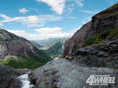 Off roading - Black Bear Pass in Colorado...near Telluride, CO
