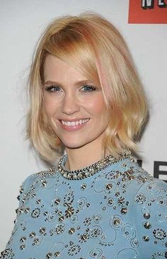 Ask for: An extended bob that skims the shoulders. You want wispy, weightless layers, so if you've got thick hair, razoring a few extra slices in at the mid-section will keep the layers looking seamless.