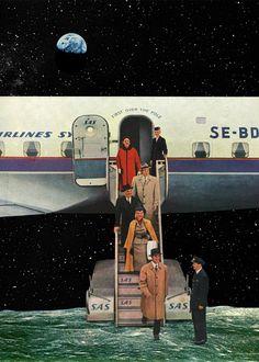 Sammy Slabbinck. Collage Art