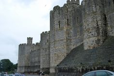 Caernarfon Castle - Wales - castles Photo