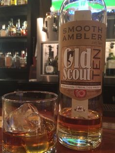 Smooth Ambler Old Scout 10 year. 100 proof. Easy on the nose. Syrupy aroma. Has an immediate feel of a thick, heavy bourbon, but settles nicely. Strong wood flavors with sweet hints. Even burn and nice lingering warmth. Good belly burn to boot.