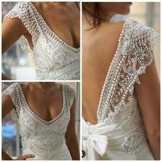 My love 😍 boho, – Wedding Gown Dream Wedding Dresses, Boho Wedding, Wedding Gowns, W Dresses, Bridal Dresses, Plus Size Wedding, Dream Dress, Bridal Style, The Dress