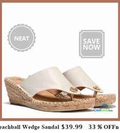 WhWomen's Beachball Wedge Sandal $39.99   33 % OFF for more details visit http://coolsocialads.com/whwomen-s-beachball-wedge-sandal--39-99---33---off-87546