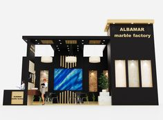 Albamar Marble Exhibition Stand Design