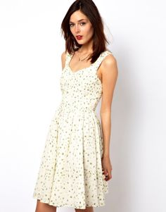 simple french sun dresses - Google Search