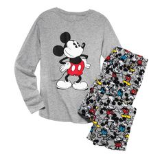 Get cozy with your favorite Disney character! This ultra-soft fleece pjs set is themed after Mickey Mouse for a fun twist on pjs. Regularly $34.99, shop Avon Fashion online at http://eseagren.avonrepresentative.com
