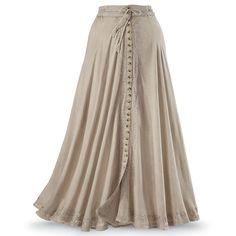 beautifully flowing maxi skirt