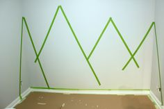 How to Paint a Simple DIY Mountain Wall Mural painting simple kids rooms Simple DIY Mountain Wall Mural Boys Bedroom Paint, Kids Room Paint, Boys Bedroom Decor, Baby Room Decor, Kids Room Murals, Wall Murals, Kids Rooms, Baby Boy Rooms, Simple Diy