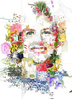 A mosaic portrait of Dr. Jill Biden. #Politics #Collage #Nature #Flowers #Botanical #Democrats #Elections #Photomosaic Political Advertising, Jill Biden, Mosaic Portrait, Photo Mosaic, American Women, Collage, Politics, Quilts, Artwork