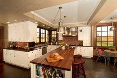 Bungalow Style Kitchen - farmhouse - kitchen - other metro - Wolfworks Inc.
