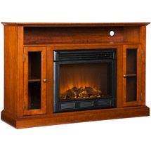 Walmart: Brookside Electric Fireplace Media Console, Walnut