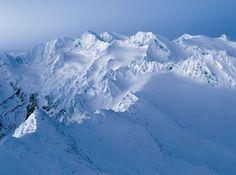 Snow in the Austrian Alps