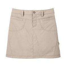 Dipper Skort - This skirt version of our customer-favorite pant has an A-line hem and a low-profile inner mesh short for a streamlined fit thats great for golf, tennis and hiking.