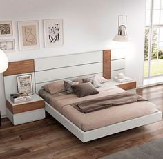 Bedding Like Serena And Lily Bedroom Lamps Design, Hotel Room Design, Modern Bedroom Design, Master Bedroom Design, Bed Back Design, Wood Bed Design, Sofa Set Designs, Double Bed Designs, Platform Bed Designs