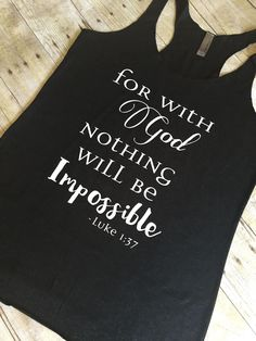 Inspirational Bible Verse Tank top for women (Cute Fitness Journal) Top Quotes, Bible Quotes, Bibble Verses, Jesus Is Life, Womens Workout Outfits, Religious Gifts, Workout Tanks, Gifts For Mom, Journaling