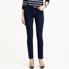 J. Crew Reid Cone Skinnies Bought from another posh-er, but they just didn't fit right. Inseam is 29 in, ankles are 6in laid flat. Previous owner said they've only been worn a handful of times, but they appear to be in perfect condition! J. Crew Jeans Skinny