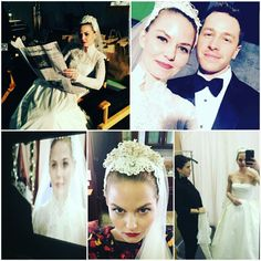 """@jenmorrisonlive en Instagram: """"Day 101: Emma's wedding gown! So much love and thought went into this dress. Just as #onceuponatime…"""""""