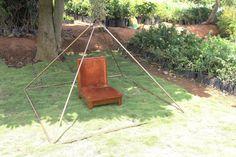 Copper Giza lite duty Meditation Pyramid 6 feet by PyramidPlant