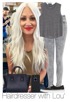 """""""Haidresser with Lou'"""" by irish26-1 ❤ liked on Polyvore featuring Acne Studios, MANGO, Vans and Boohoo"""