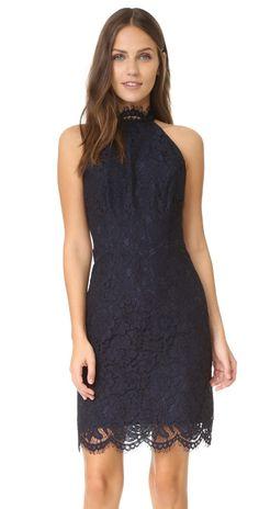 BB Dakota Cara High Neck Lace Dress | SHOPBOP