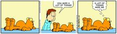 Garfield & Friends | The Garfield Daily Comic Strip for November 09th, 2013