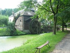 Mill of an old Hungarian village. Museum, Travel, City Landscape, Budapest, Hungary, 19th Century, Monuments, Europe, Viajes