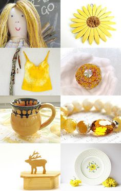 Bright Sunshiny Days by Rebecca on Etsy--Pinned with TreasuryPin.com