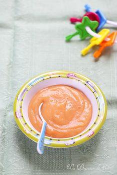 Purée de pommes de terre, tomates et poulet (recette pour bébés)
