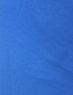 Лен однотонный, цвет синий (ост. 0.5 м)