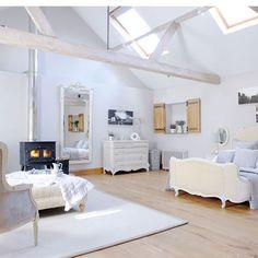 landelijke slaapkamer ideen op zolder interieur inrichting lila slaapkamer rustige slaapkamer luchtige slaapkamer