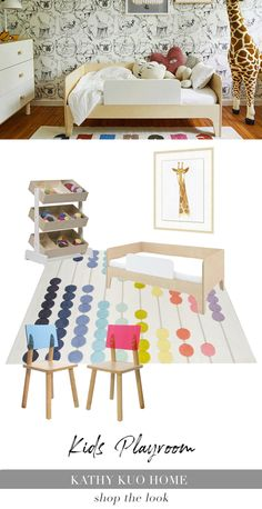 Give your little one guaranteed giggle-inducing fun with these adorable playroom ideas. You are sure to see smiles with items like: hand-crafted teepees for the most memorable sleepovers, charming play tables for games and learning, and beautiful handmade toys from renowned kids brands Kathy loves. Time to shop and play! Play Table, Teepees, Kids Branding, Playroom Ideas, Sleepover, Handmade Toys, Kids Room, How To Memorize Things, Tables