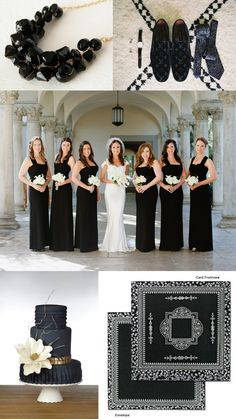 Planning a black wedding? See our unique black wedding invitations to compliment your theme!