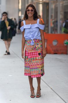 love love love the skirt !  #springtrends