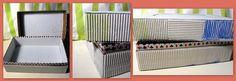 EcoCraftTour: da vassoi di cartone ad utile contenitore {... adoro le scatole!} - Tutorial