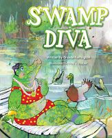 Two new children's books introduce kids to the wonders of the Louisiana swamp. An alligator yearns to be the queen of the swamp, f. Louisiana Swamp, New Children's Books, Award Winning Books, Childrens Books, Storytelling, Diva, Queen, Children Books, Children Story Book