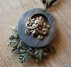 "Ooak☥Craft - 'Secret of trees' necklace > Collar ""Secret of trees"""