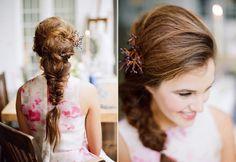 Inspirações: penteados para noivas com cabelo longo http://www.blogdocasamento.com.br/inspiracoes-penteados-para-noivas-com-cabelo-longo/