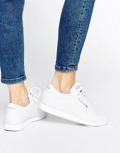 9113bad63a Reebok | Reebok Princess Spirit White Sneakers at ASOS Bottes, Reebok  Femme, Baskets Blanches