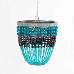 Ro Sham Beaux Malibu Ken Beaded Chandelier. Pricey, but can use for inspiration.