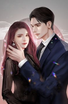 Shape of wave - work Anime Couples Drawings, Anime Couples Manga, Cute Anime Couples, Fanart Kpop, Couple Sketch, Fantasy Couples, Handsome Anime Guys, Couple Illustration, Anime Love Couple