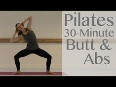 Pilates 30 Minute Butt & Ab Workout with Laura Firth Pilates Workout Routine, Pilates Abs, Pilates Video, Pilates Reformer, Pilates Challenge, Pilates For Beginners, Beginner Pilates, Barre Workouts, Beginner Workouts