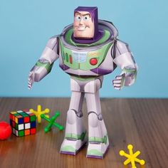 Toy Story 3D Buzz free printable. @Abi Proper Williams lets do this and be the coolest Aunts ever. ;) hahahaha