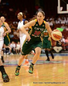 Sue Bird, at Liberty game