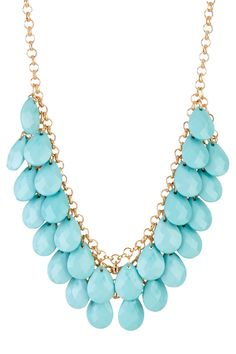 Necklaces necklaces necklines necklaces 2013 turquoise necklace #fk #fashionkiosk #jewellery