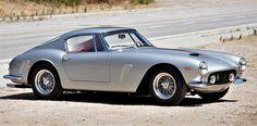 The 1962 Ferrari 250 GT SWB Berlinetta was restored to original