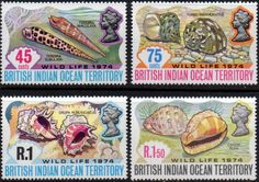 British Indian Ocean Territory 1973 Wildlife Set Fine Mint SG 53/5 Scott 54/6 Other B.I.O.T. Stamps HERE