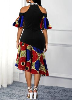 women dresses, tight dress online, with competitive price African Fashion Ankara, Latest African Fashion Dresses, Women's Fashion Dresses, South African Traditional Dresses, Short African Dresses, African Attire, Classy Dress, Cold Shoulder, Shoulder Dress