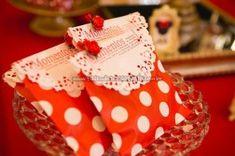 Lembrancinhas Festa Minnie Vermelha da Maria Clara