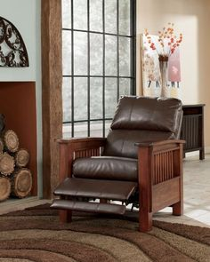 Santa Fe Bark High Leg Recliner by Ashley Furniture...CLICK for more detail...FREE Shipping on order over $25
